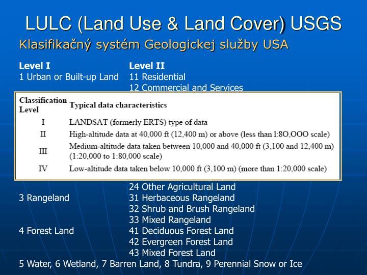 LULC (Land Use