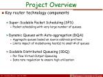 project overview2
