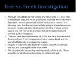 free vs freeh investigation1
