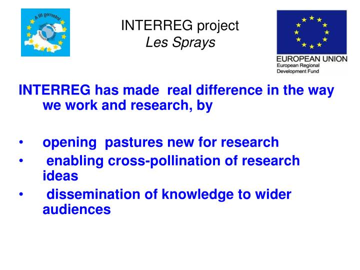INTERREG project