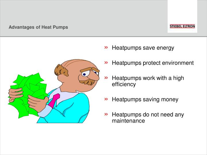 Advantages of Heat Pumps