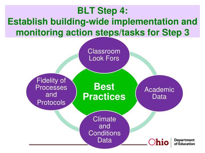 BLT Step 4: