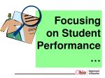 focusing on student performance