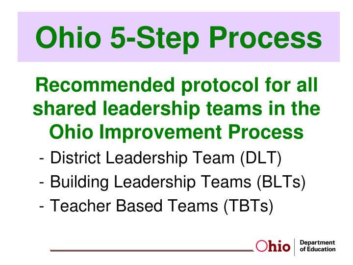 Ohio 5-Step Process
