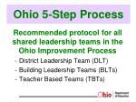 ohio 5 step process