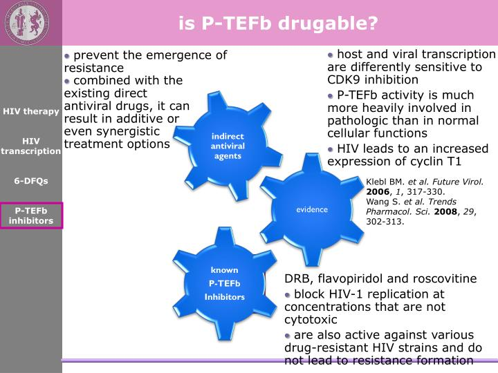 is P-TEFb drugable?