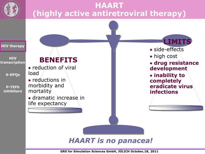 HAART                                              (highly active antiretroviral therapy)