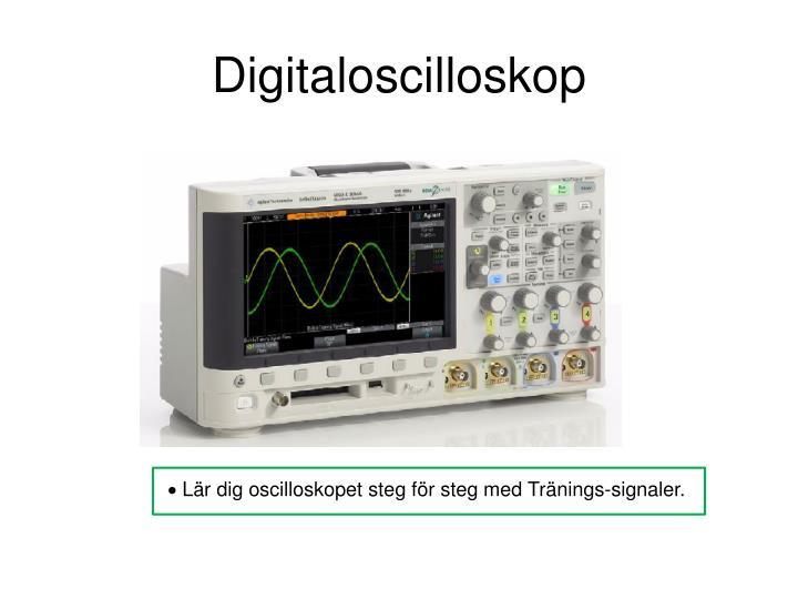 Digitaloscilloskop