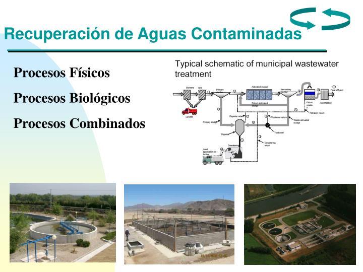 Recuperación de Aguas Contaminadas