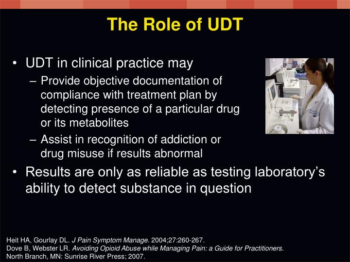 The Role of UDT