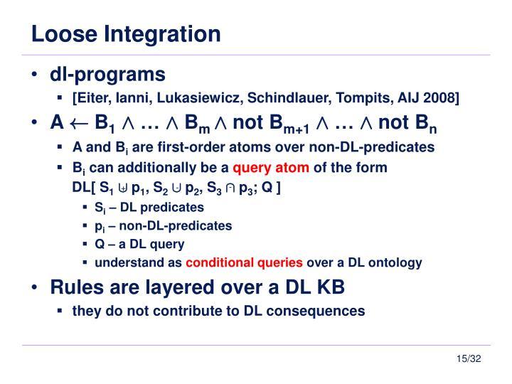 Loose Integration