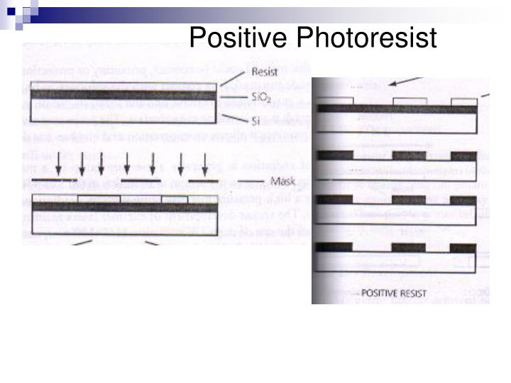 Positive Photoresist