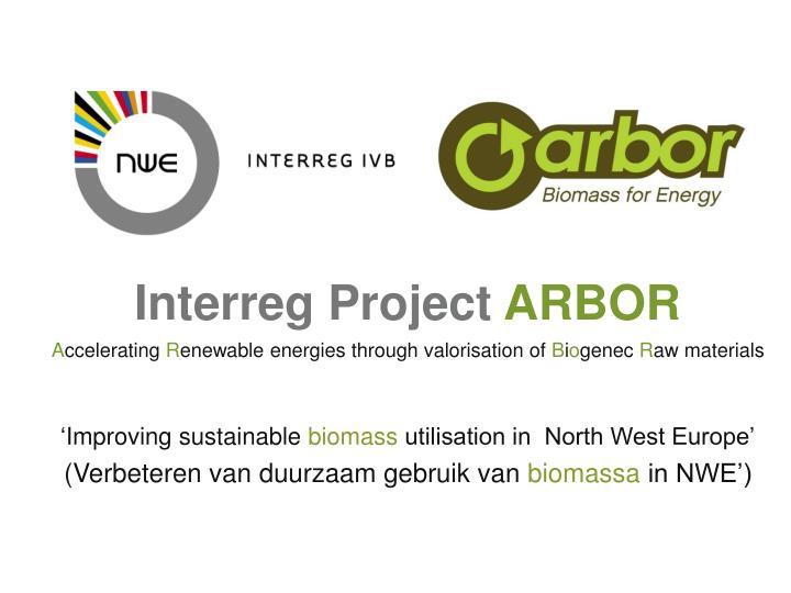 Interreg Project