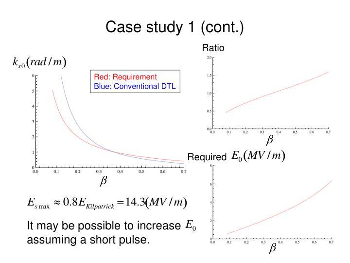 Case study 1 (cont.)