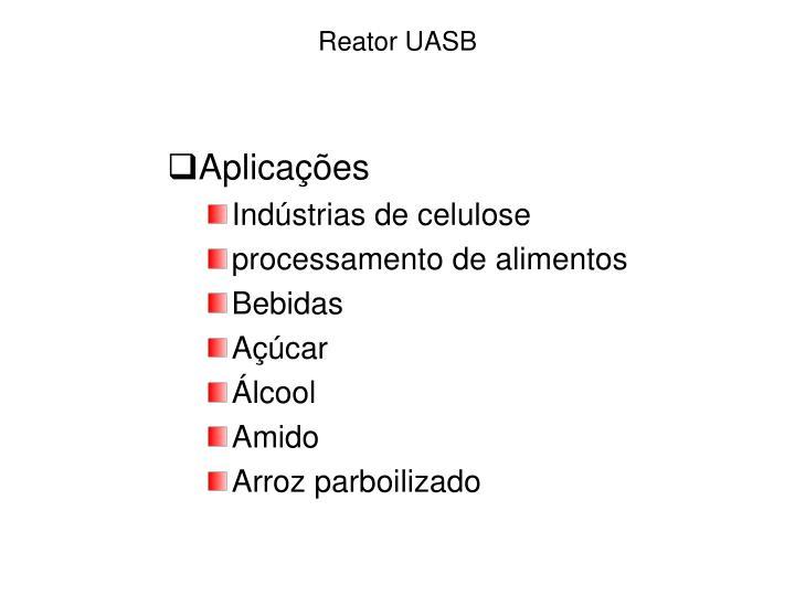 Reator UASB
