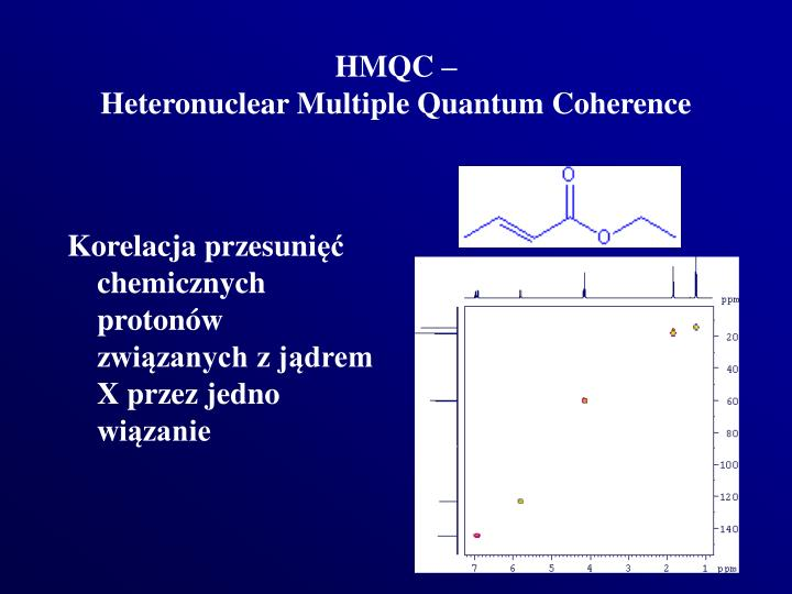 HMQC –
