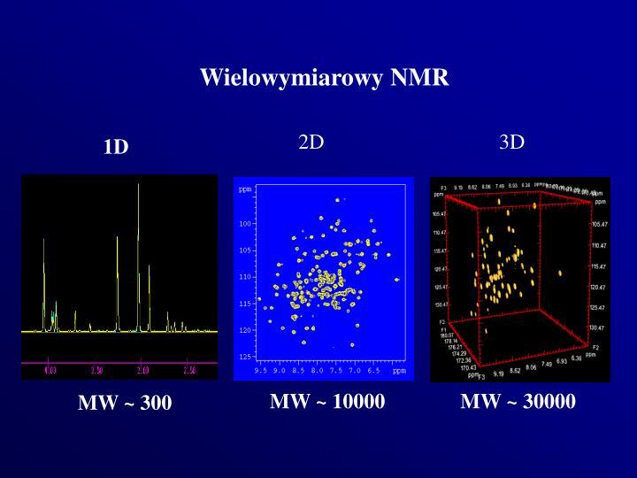 Wielowymiarowy NMR