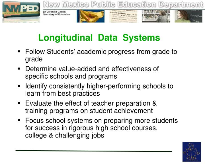 Longitudinal  Data  Systems