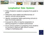 longitudinal data systems