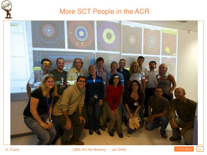 More SCT People in the ACR