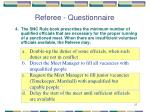 referee questionnaire3