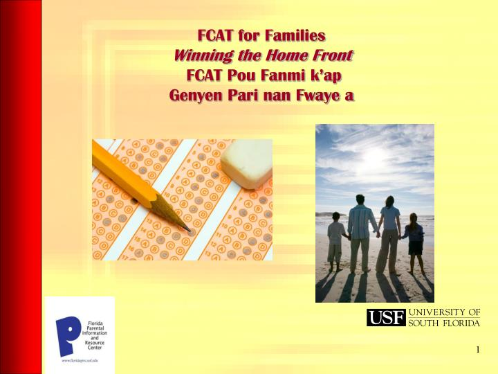 FCAT for Families