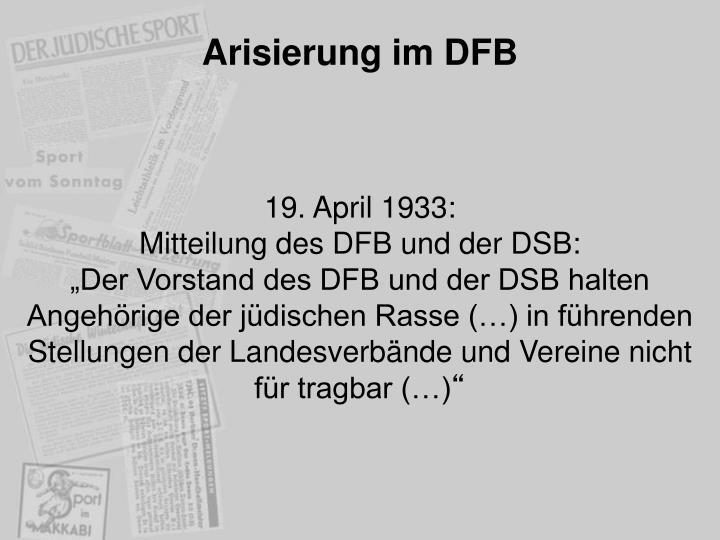 Arisierung im DFB
