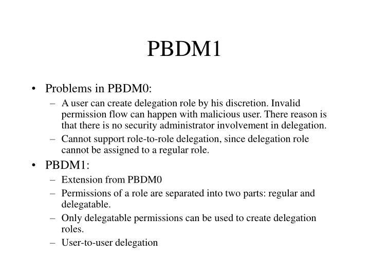 PBDM1