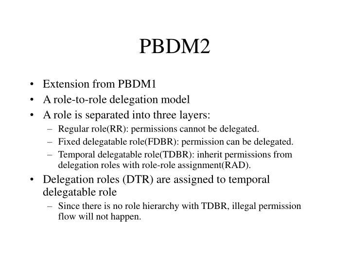 PBDM2