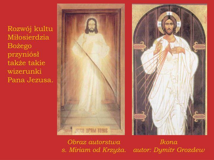 Rozwój kultu Miłosierdzia