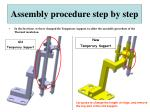 assembly procedure step by step