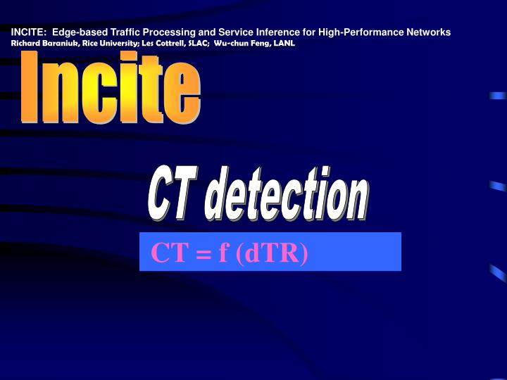 INCITE:  Edge-based Traffic Processing and Service Inference for High-Performance Networks