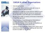 cmsuk other organisations