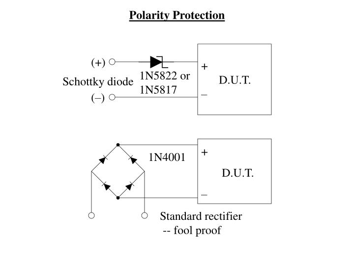 Polarity Protection