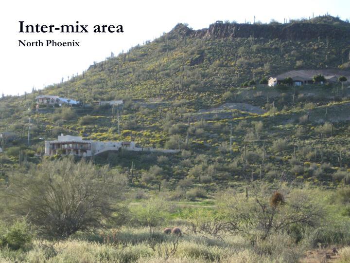 Inter-mix area
