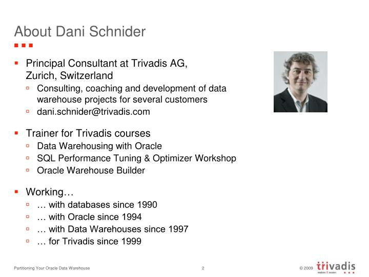 About Dani Schnider