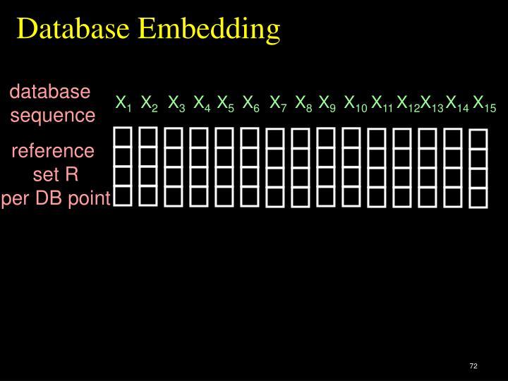 Database Embedding