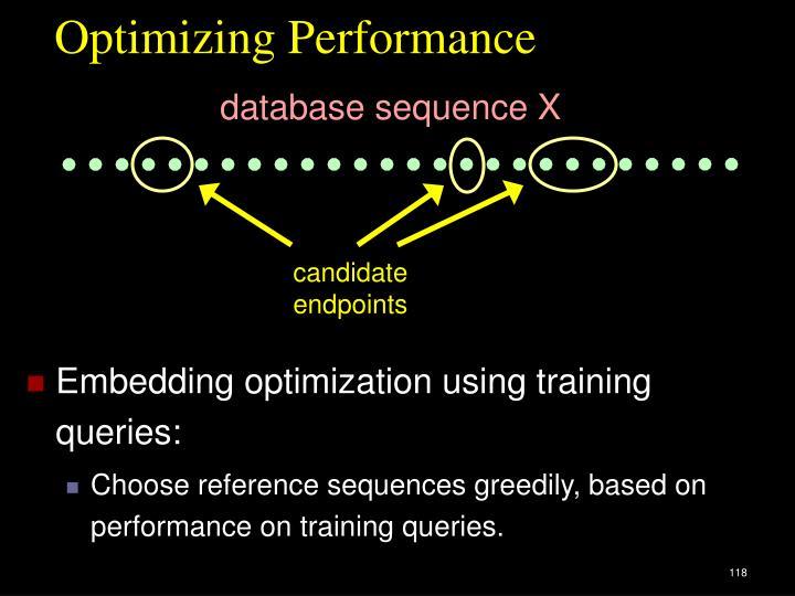Optimizing Performance