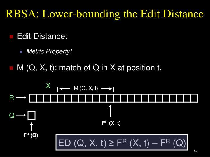 ED (Q, X, t) ≥ F