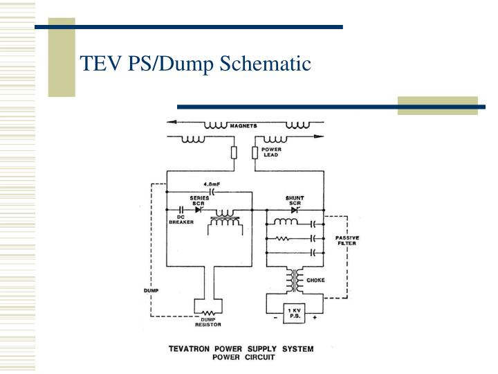 TEV PS/Dump Schematic