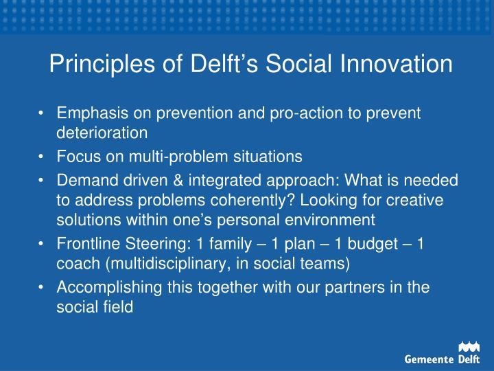 Principles of Delft
