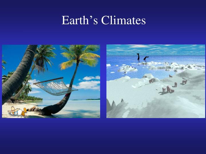 earth s climates
