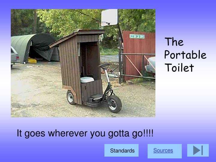 The Portable Toilet