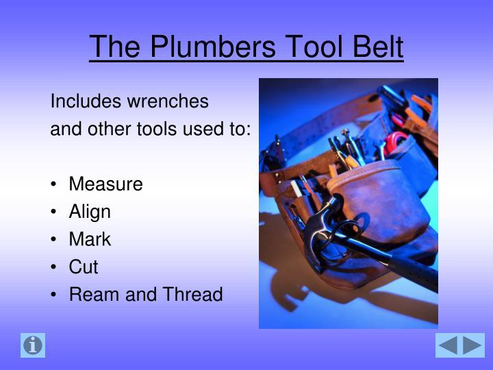 The Plumbers Tool Belt
