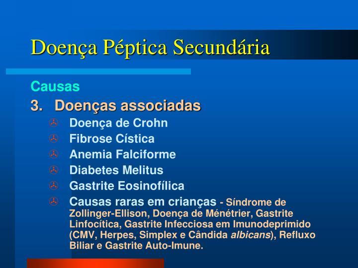 Doença Péptica Secundária