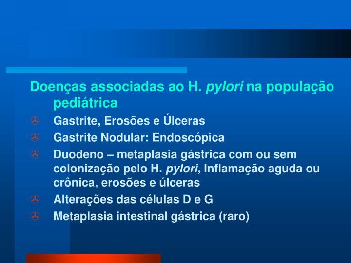 Doenças associadas ao H.
