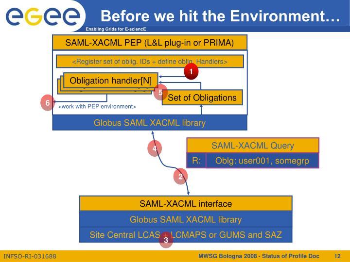 SAML-XACML PEP (L&L plug-in or PRIMA)