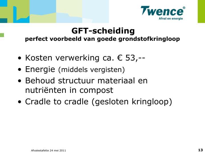 GFT-scheiding