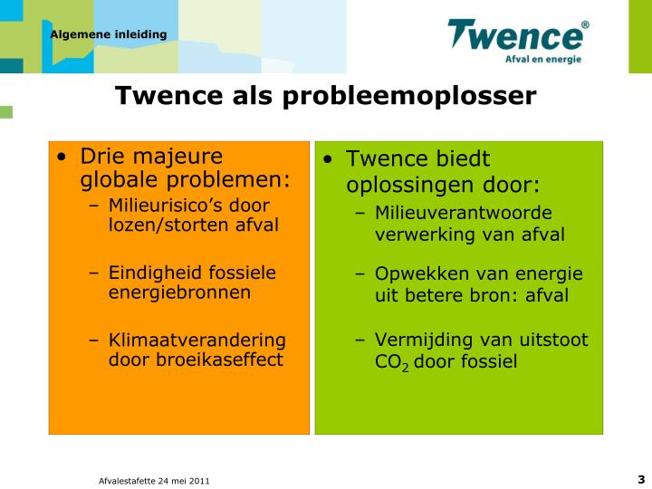 Drie majeure globale problemen: