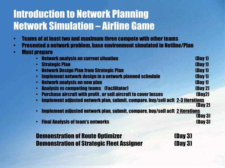 airline game report on the simulation Airlinesim is the online airline simulation game for pros: with its sophisticated planning, reservation, inventory and management systems it allows you to run your.